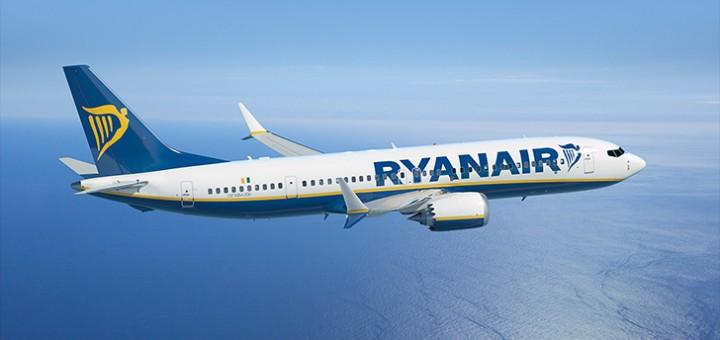 Ryanair'i lennuk. Allikas: Ryanair.com